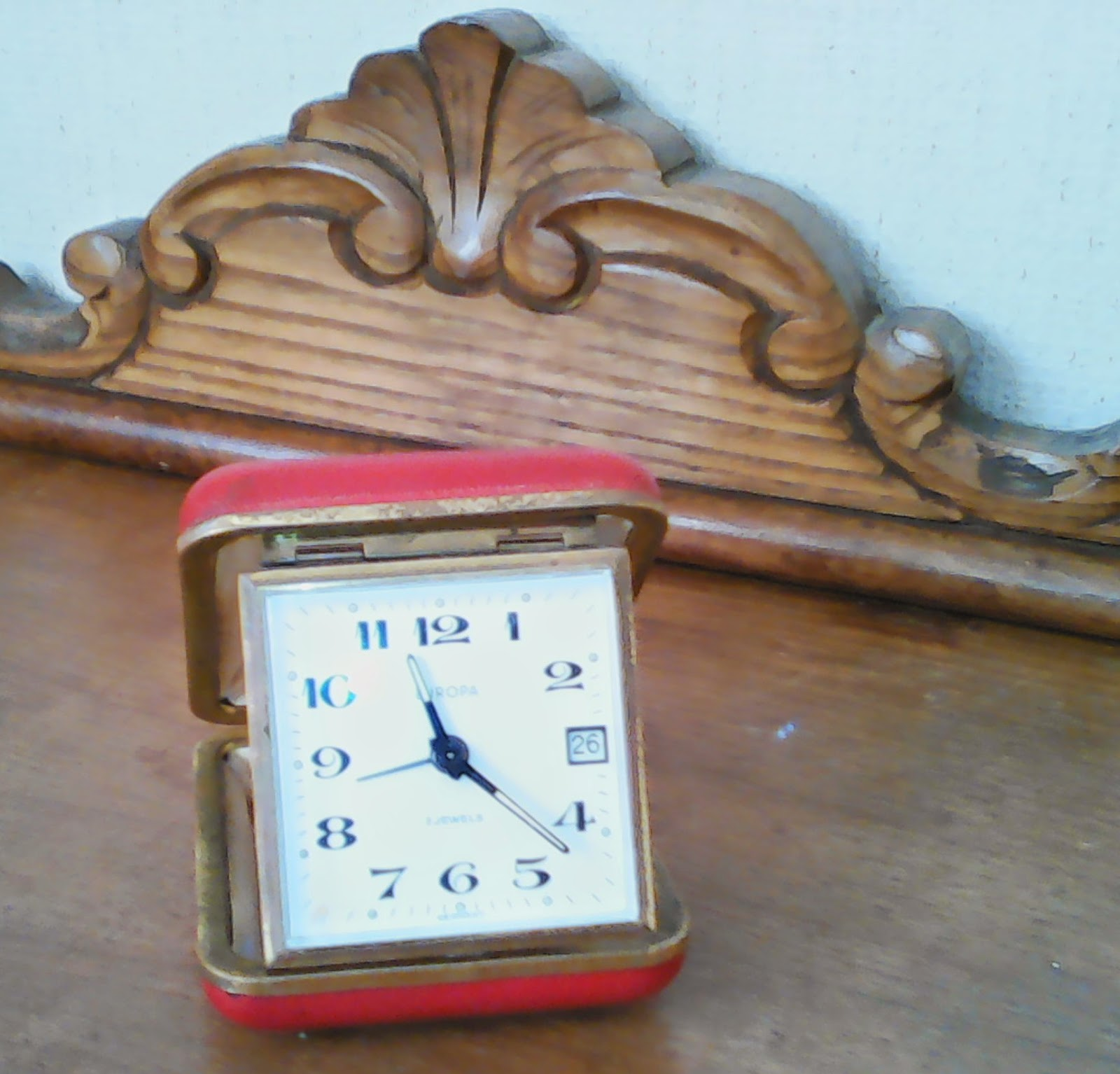 O desv n vintage do pereiro despertador de viaje - Desvan vintage ...