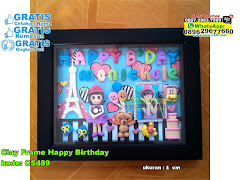 Clay Frame Happy Birthday
