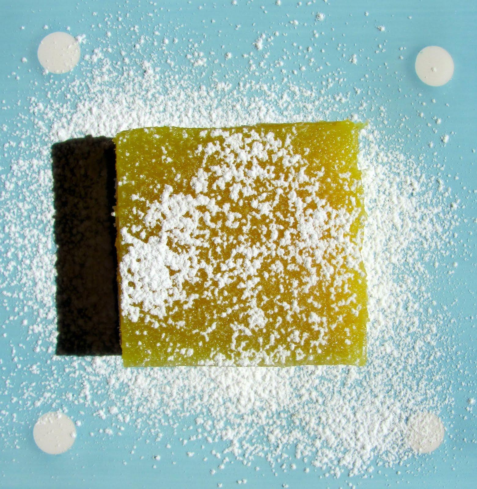 Vegan Lemongrass-Lemon Bars, with Coconut Shortbread Crust!