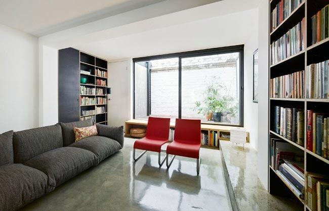 Dise o de interiores minimalista para un apartamento - Diseno interior minimalista ...