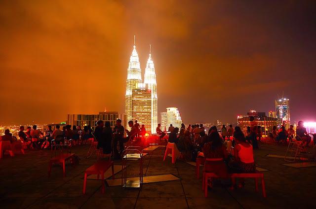 Heli Lounge Sky Bar Kuala Lumpur Malaysia