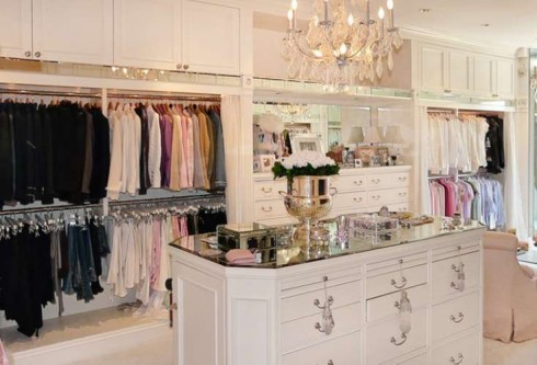 Million Dollar Closets. Coldwell Banker Global Luxury Home Style