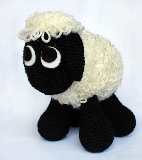 Pecorella amigurumi