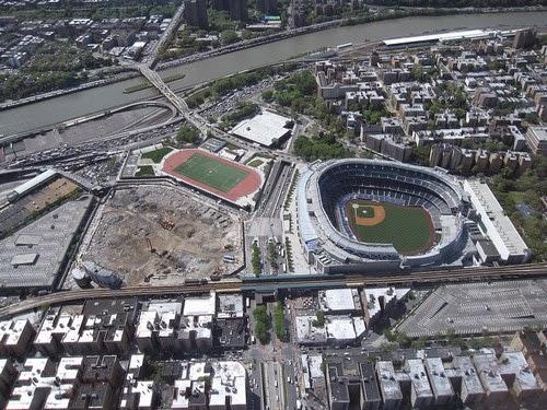 Yankee Stadium est localisé dans le Bronx