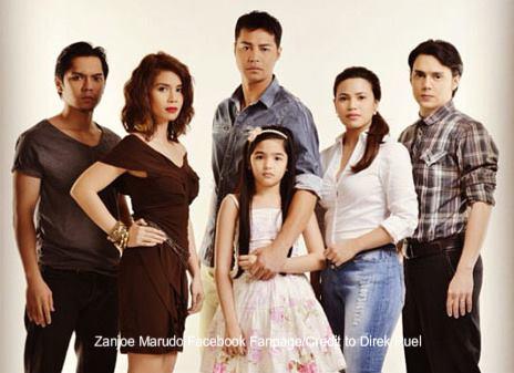 Annaliza cast: Andrea Brillantes, Zanjoe Marudo, Kaye Abad, Denise Laurel, Patrick Garcia, and Carlo Aquino