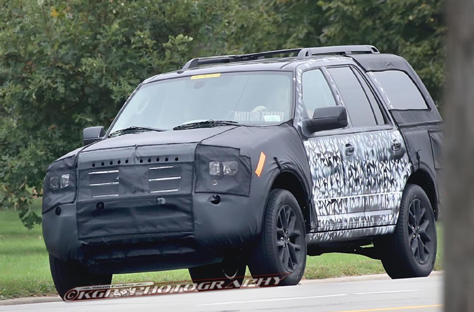 Sneak Peek: 2015 Ford Expedition