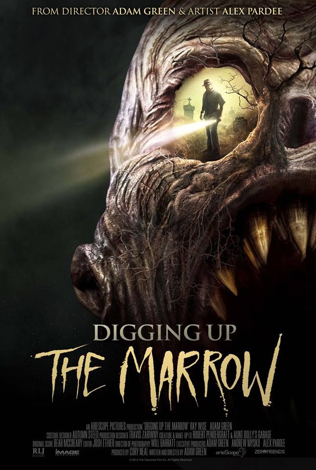 Digging up the marrow alternate poster