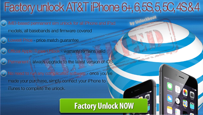 Unlock AT&T iPhone 6