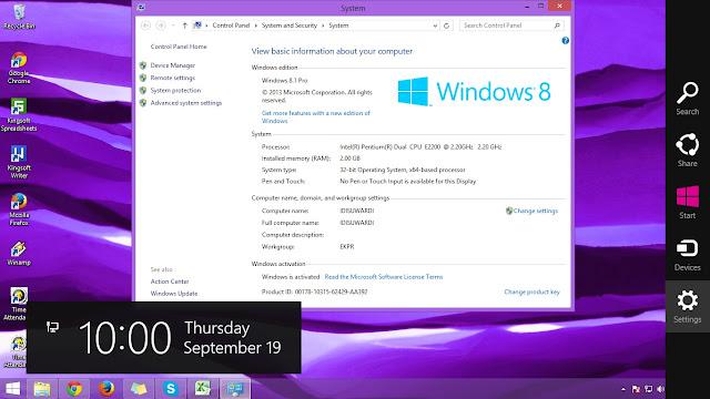Daftar Lengkap Versi Windows 8.1