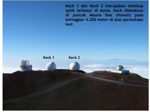 Cara menggunakan teleskop jendela astronomi