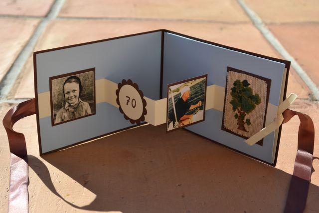 Stamping Butterfly Einladung Und Tischdeko 70 Geburtstag