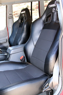 OR-Fab Project Jeep XJ Cherokee Corbeau Seats