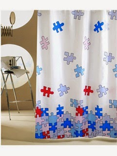 curtain wall art kids room