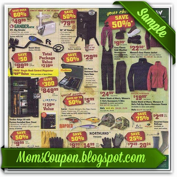 image about Gander Mountain Printable Coupon identified as Cost-free Printable Gander Mountain Coupon codes Totally free Printable