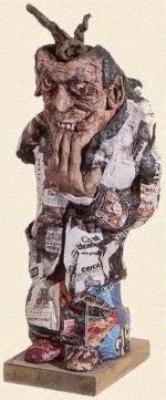 Il consumista 1985 Museo Zavattini