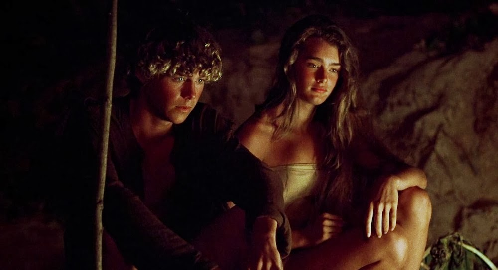 screen shots from the blue lagoon 1980