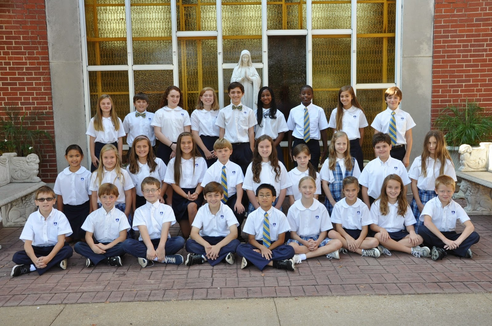 Montgomery Catholic Elementary Campuses Elect 2014-15 Student Council 1