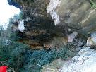 Inici de sector de llevant de les Baumes del Molí de la Codina