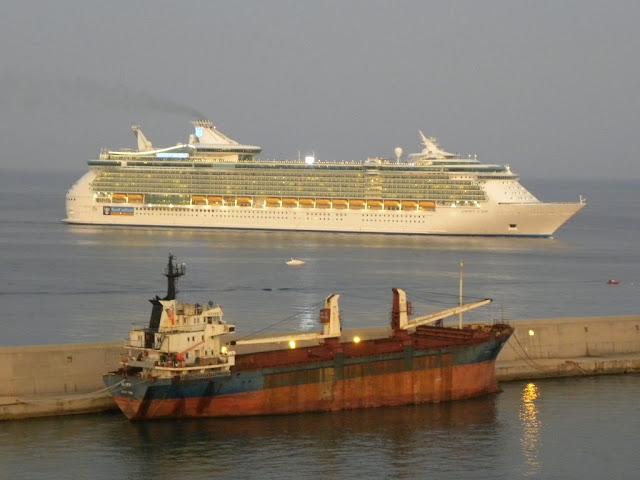 Cruise ships Civitavecchia