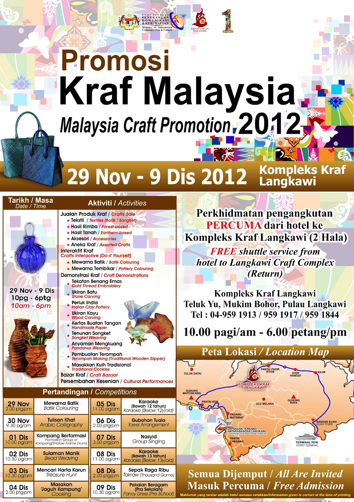 Promosi Kraf Malaysia Nov Dis Resized Wallpaper