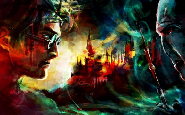Alice X. Zhang alicexz deviantart pinturas de filmes séries Harry Potter