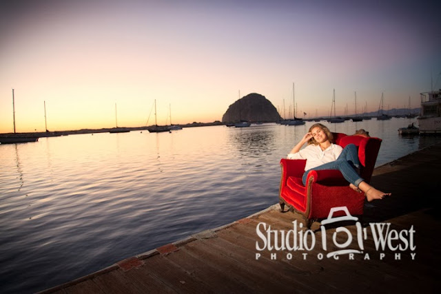 morro rock senior pictures - beach portraits - senior portrait - atascadero - studio 101 west photography