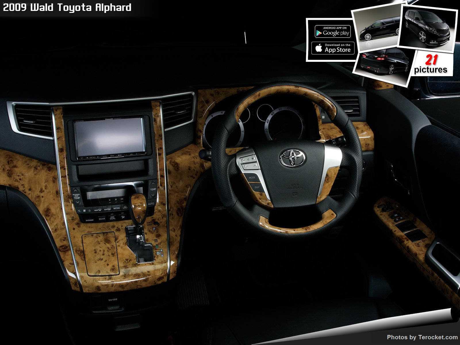 Hình ảnh xe độ Wald Toyota Alphard 2009 & nội ngoại thất