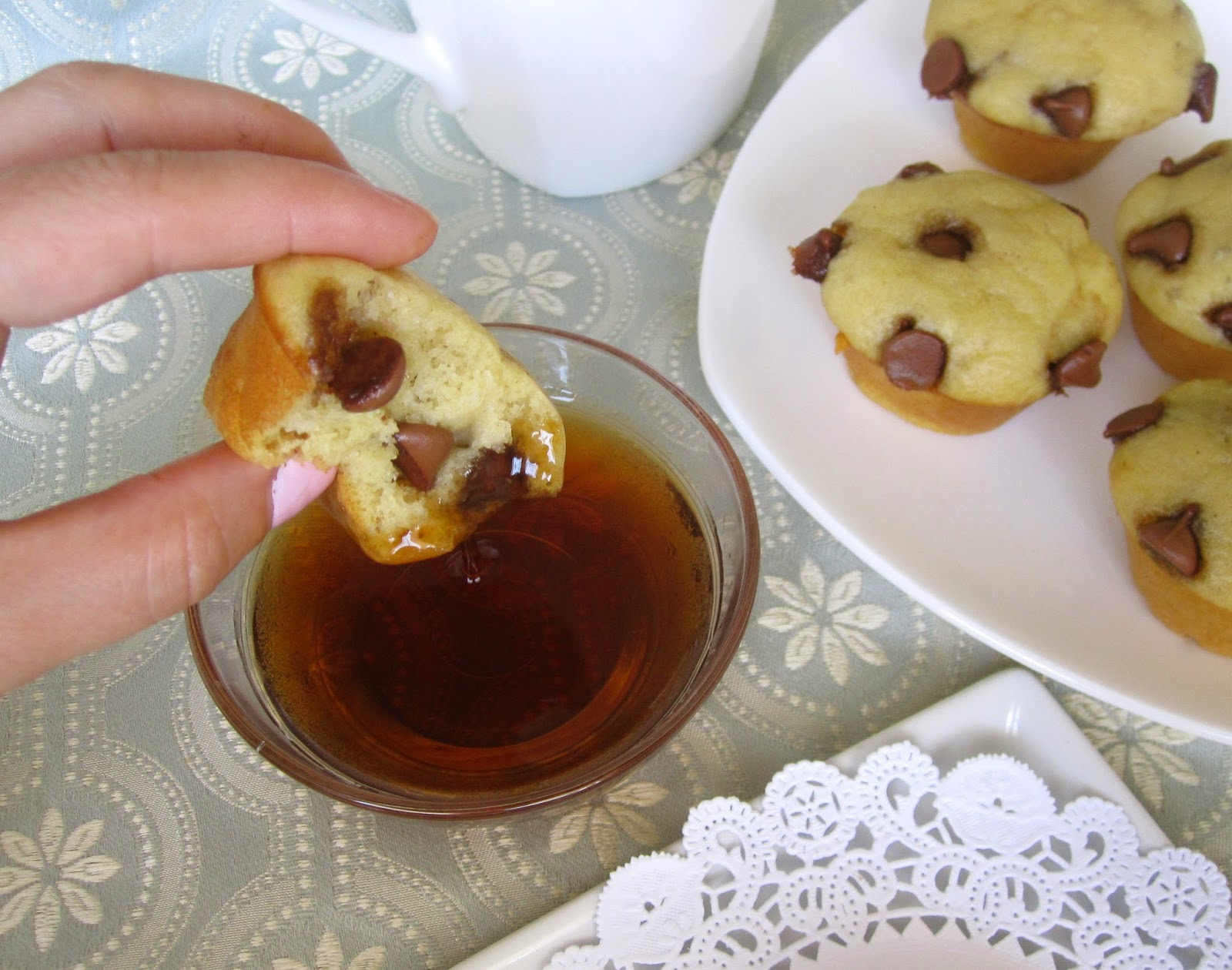 Mini Pancake Muffin Dunkers