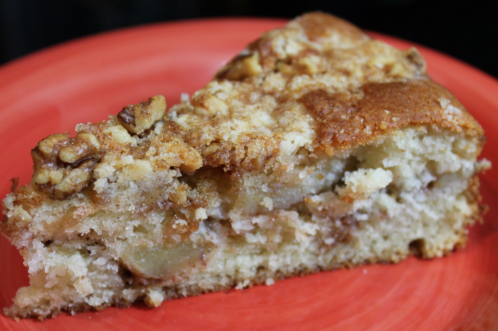 A Luscious Apple Cake for Fall - Just~One~Donna