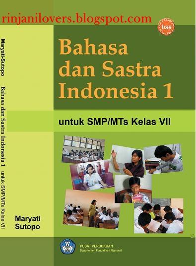judul buku bahasa dan sastra indonesia untuk smp mts kelas vii