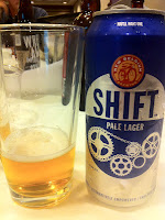New Belgium's Shift Pale Lager