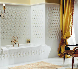 Bathroom Modern Design With Antique Tiles << Architecture and ... on