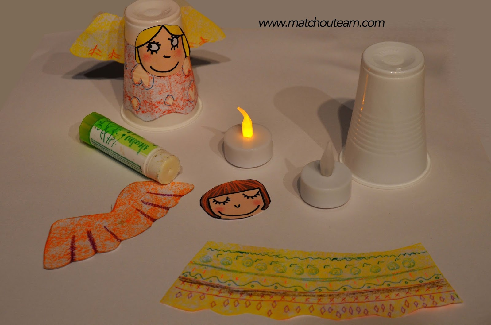 Noël lampion bricolage enfant
