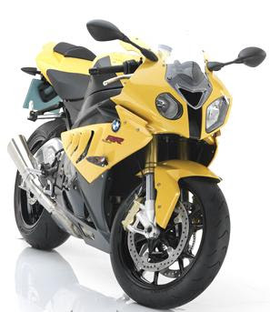 2011 BMW S1000RR front