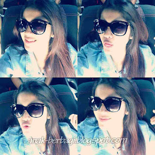 Foto Selfie Raya Kitty Terbaru