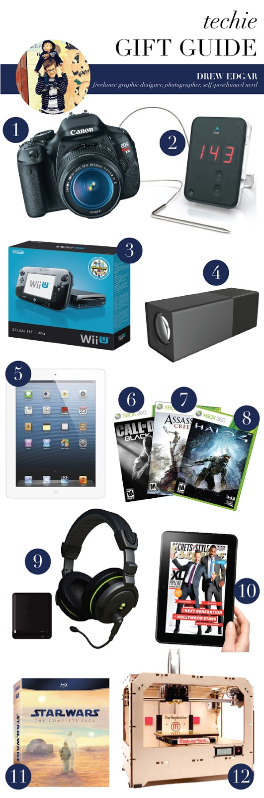 techie gift guide (via Holly Would)