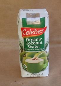 Celebes, Agua de Coco