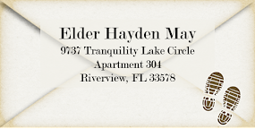 Elder May's Current Address