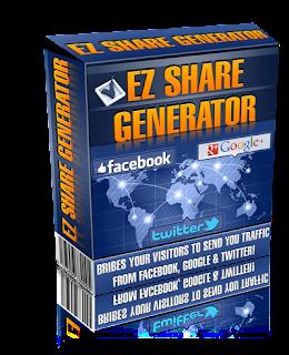 EZ Share Generator! Social Media Traffic Getting Software scam