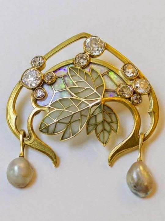 gioielli art nouveau