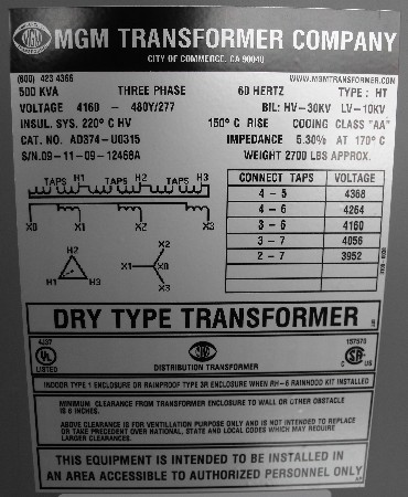 Mgm Dry Type Transformer Np on 3 phase motor connection diagram