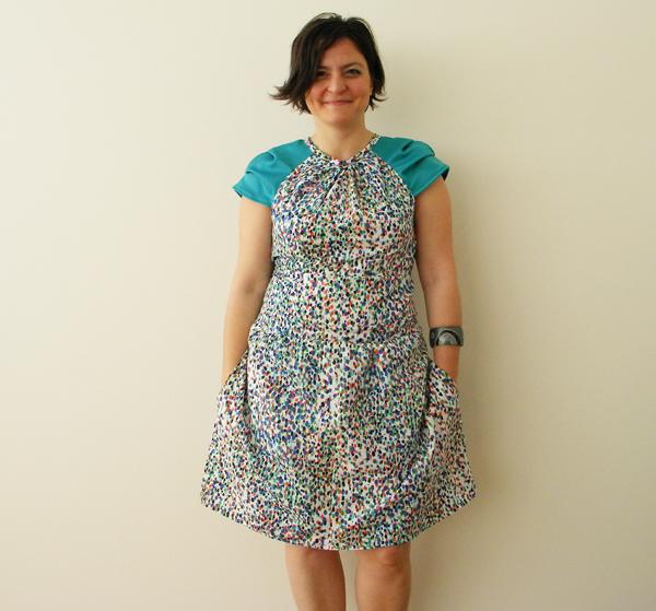 moda dikiş tasarım baharlık elbise modelleri