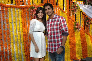 Samantha in short white frock Spotted at shooting location of a movie