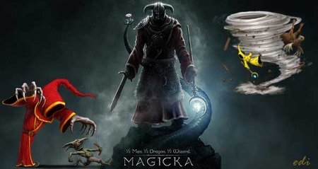 Magicka version 1.4.7.0 PC game 2012
