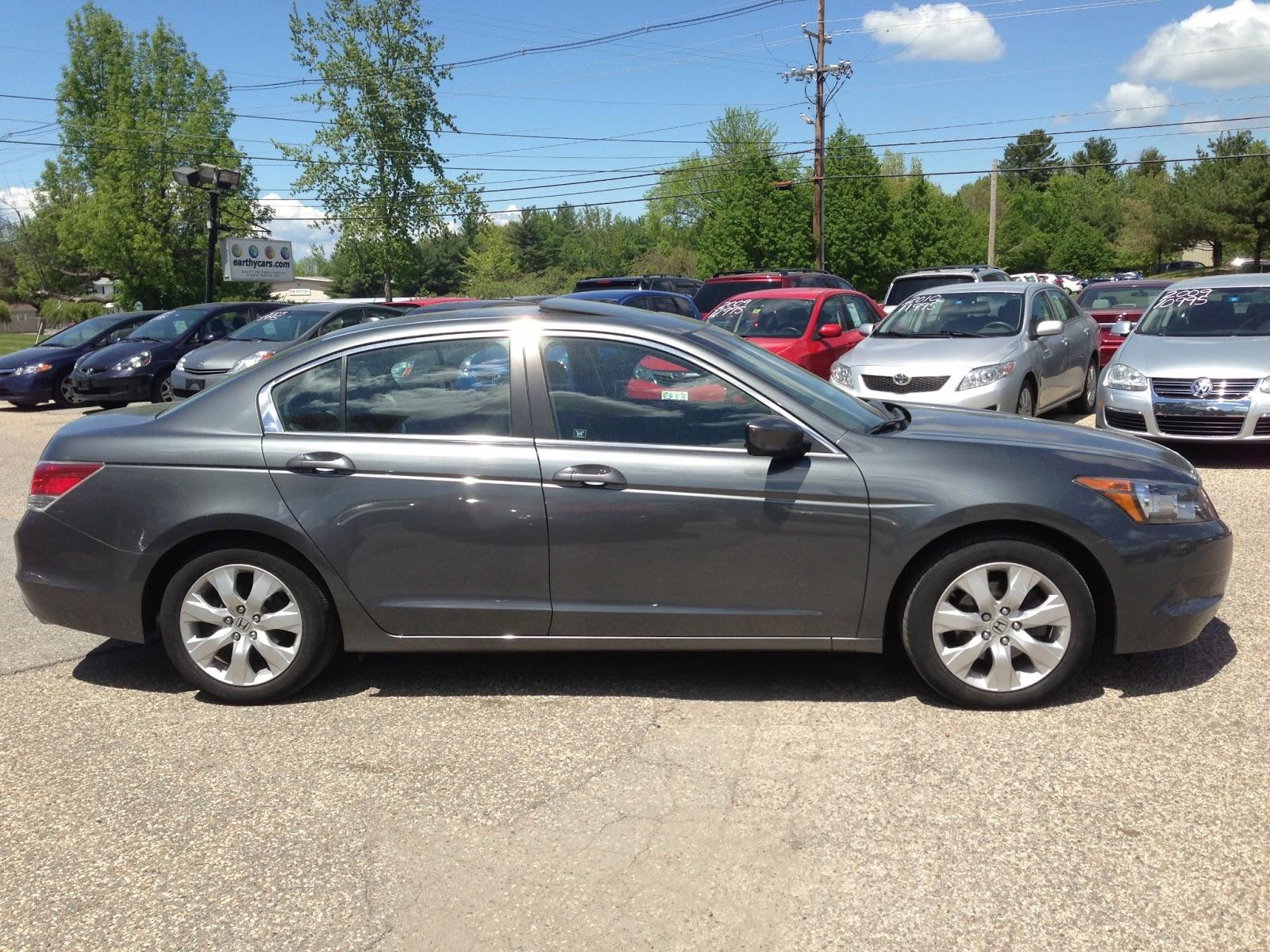 2010 Honda Accord 2.4 EX L, Grey, Sedan, 36236 Mi, $17,995  Http://bit.ly/116zaUT Full Size, 5 Spd Automatic, MPG U003d 21/31