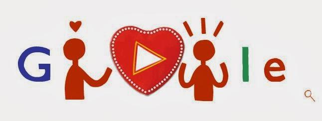 Google en San Valentín