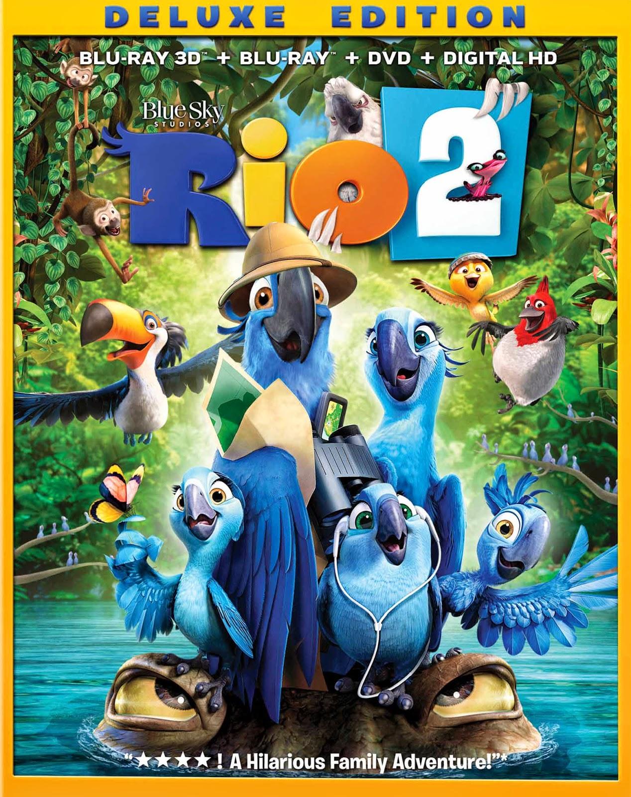 Rio 2 (2014) 3D BluRay