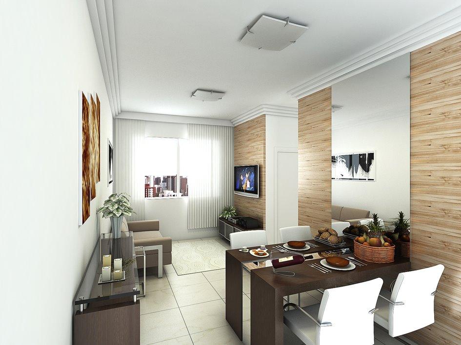decoracao de ambientes pequenos sala:Ambientes pequenos tem todo o seu charme, é só saber usar a
