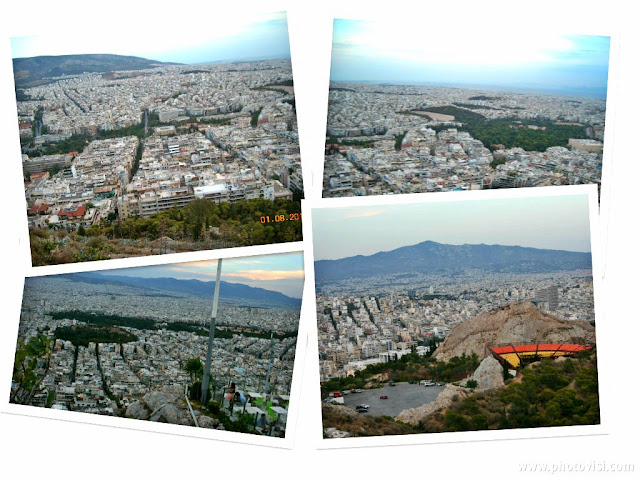 Monte Lycabettus en Atenas: vistas