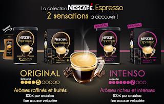 2 échantillons gratuits de Nescafé Espresso